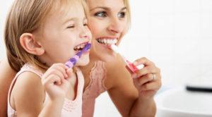 Tandplejevaner i barndommen